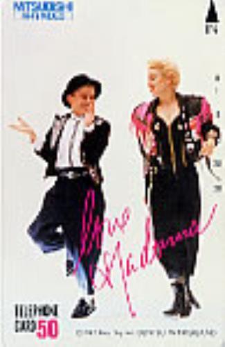 Madonna Phonecard phone card Japanese MADPCPH234480