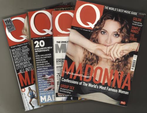 Madonna Q Magazine - Four issues magazine UK MADMAQM733265