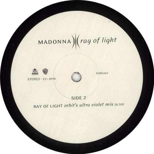 "Madonna Ray Of Light #4 12"" vinyl single (12 inch record / Maxi-single) UK MAD12RA112930"