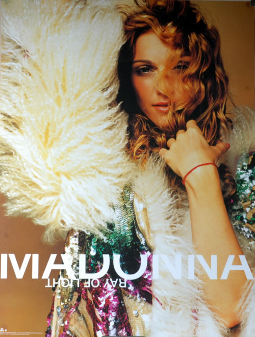 Madonna Ray Of Light poster US MADPORA589503