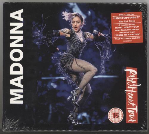 Madonna Rebel Heart Tour - CD/DVD - Sealed 2-disc CD/DVD set UK MAD2DRE727954