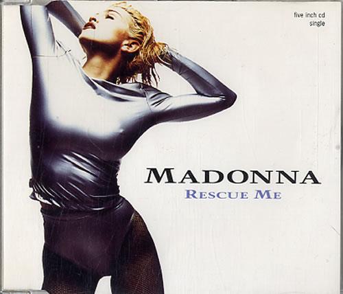 "Madonna Rescue Me CD single (CD5 / 5"") UK MADC5RE03574"