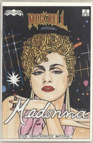 Madonna Rock 'N' Roll Comics magazine US MADMARO155239