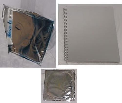 Madonna Sex - book (opened) and CD in foil book UK MADBKSE231464