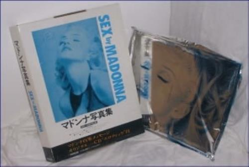 Madonna Sex - Sealed Foil + Picture Box book Japanese MADBKSE146380