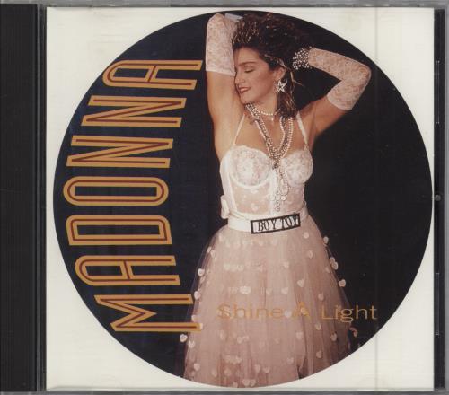 "Madonna Shine A Light CD single (CD5 / 5"") UK MADC5SH181343"