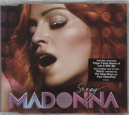 Madonna Sorry 2-CD single set (Double CD single) UK MAD2SSO350293