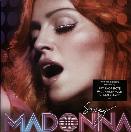 "Madonna Sorry 12"" vinyl single (12 inch record / Maxi-single) UK MAD12SO350296"