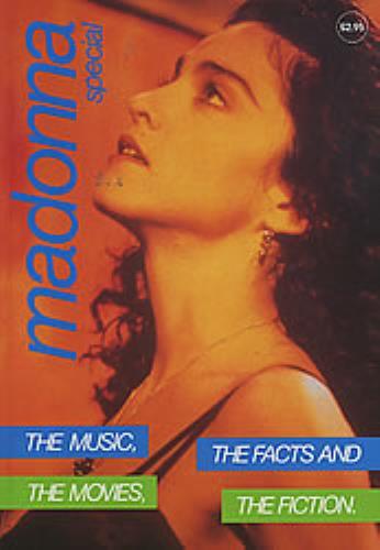 Madonna Special 1990 book UK MADBKSP124288