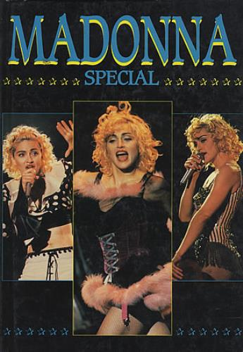 Madonna Special 1992 book UK MADBKSP124289