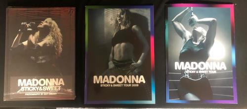 Madonna Sticky & Sweet Tour Bundle 2 memorabilia UK MADMMST728688