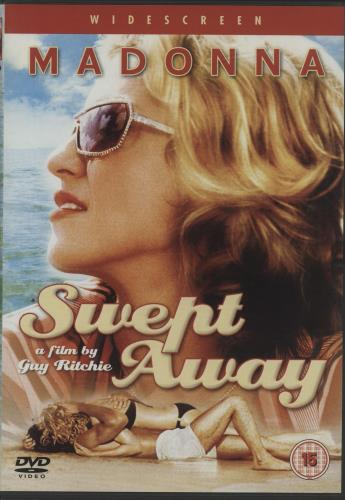 Madonna Swept Away DVD UK MADDDSW383480