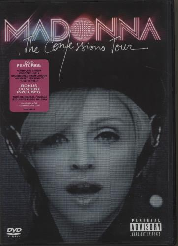 Madonna The Confessions Tour DVD UK MADDDTH684153