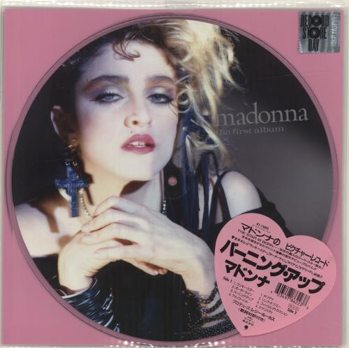 Madonna The First Album - RSD18 - Sealed picture disc LP (vinyl picture disc album) UK MADPDTH694828