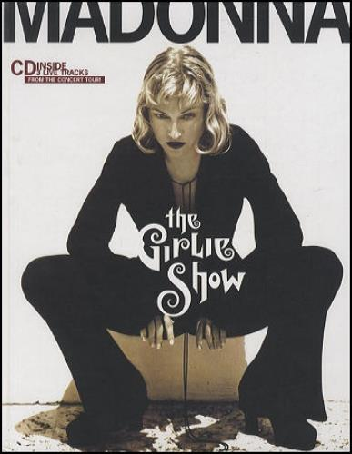 Madonna The Girlie Show Book + CD book UK MADBKTH43904