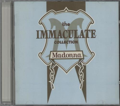 Madonna The Immaculate Collection CD album (CDLP) UK MADCDTH183178