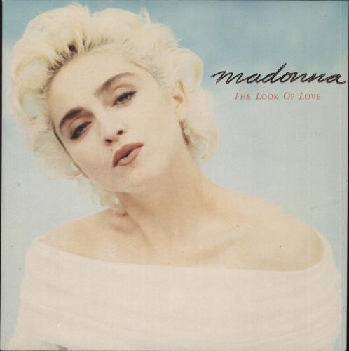 """Madonna The Look Of Love - Inj - Card Sleeve 7"""" vinyl single (7 inch record) UK MAD07TH565655"""