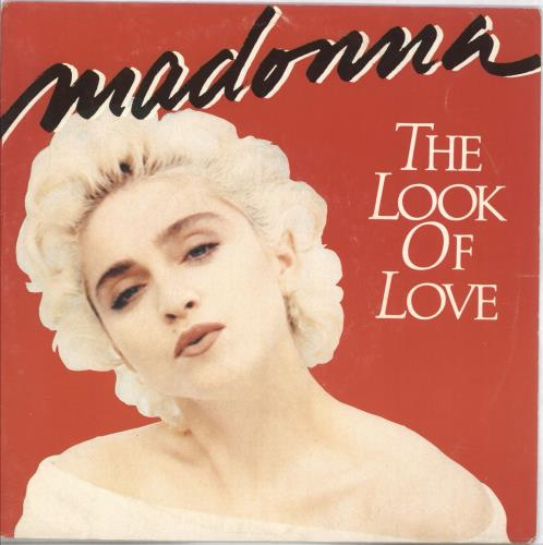 """Madonna The Look Of Love 7"""" vinyl single (7 inch record) French MAD07TH05346"""