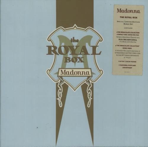 Madonna The Royal Box box set UK MADBXTH05425