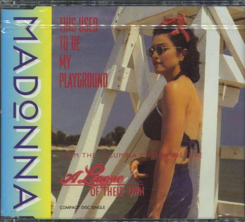 """Madonna This Used To Be My Playground CD single (CD5 / 5"""") German MADC5TH06656"""