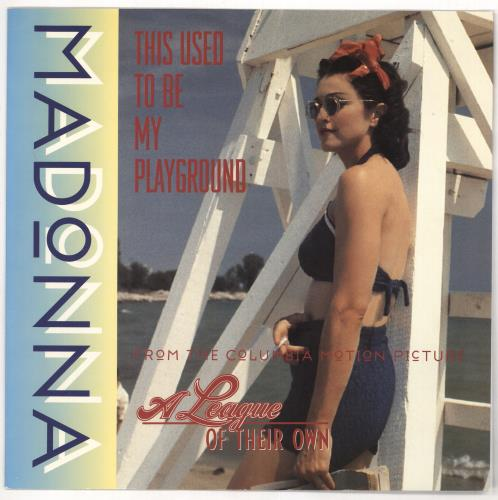"""Madonna This Used To Be My Playground 12"""" vinyl single (12 inch record / Maxi-single) UK MAD12TH09002"""