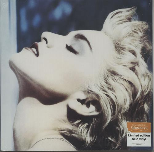 Madonna True Blue - Blue Vinyl + Sealed vinyl LP album (LP record) UK MADLPTR662633