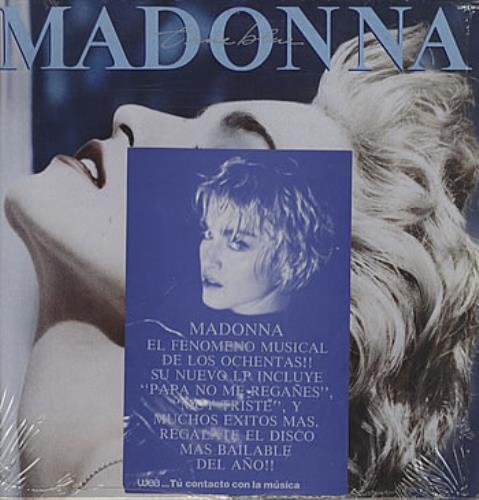 Madonna True Blue vinyl LP album (LP record) Mexican MADLPTR311322
