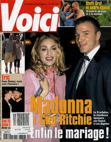 Madonna Voici magazine French MADMAVO347578
