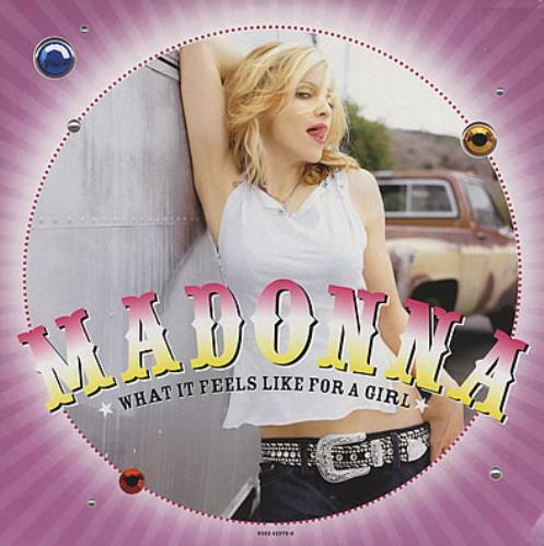 """Madonna What It Feels Like For A Girl - Parts 1 & 2 12"""" vinyl single (12 inch record / Maxi-single) UK MAD12WH378813"""