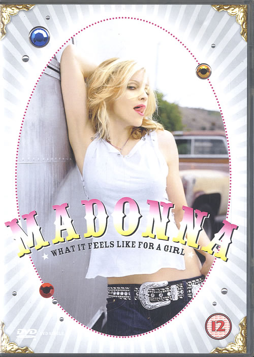 Madonna What It Feels Like For A Girl DVD Single UK MADDSWH183644