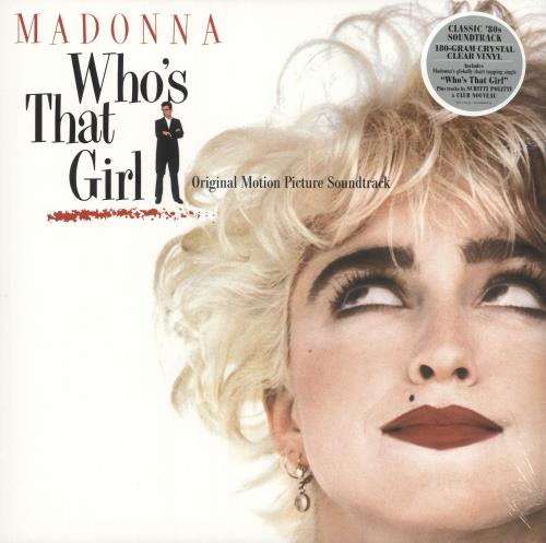 Madonna Who's That Girl - 180gm Clear Vinyl - Sealed vinyl LP album (LP record) UK MADLPWH733266