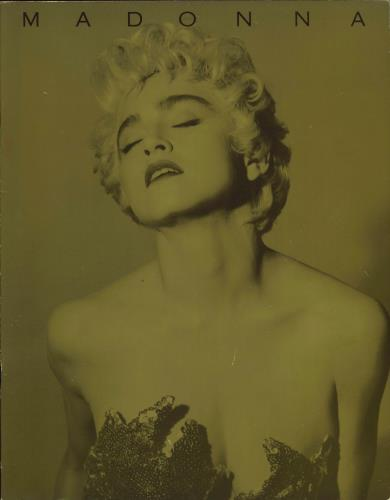 Madonna Who's That Girl - World Tour 1987 + ticket tour programme UK MADTRWH188715