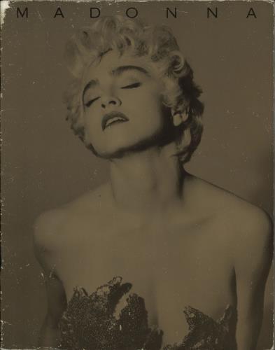 Madonna Who's That Girl - World Tour 1987 - VG tour programme UK MADTRWH253978