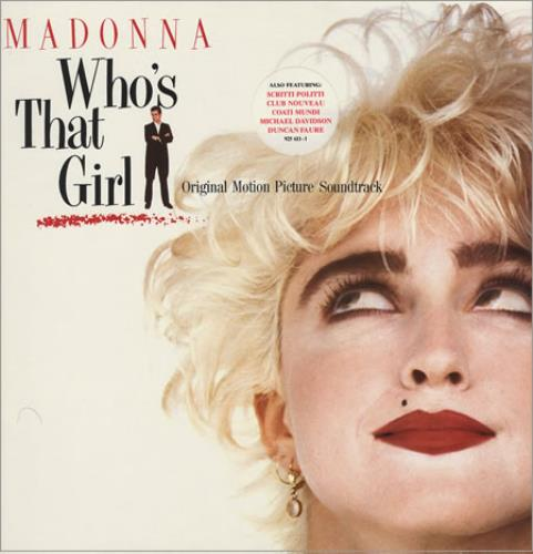 Madonna Who's That Girl vinyl LP album (LP record) German MADLPWH231629