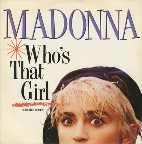 """Madonna Who's That Girl 12"""" vinyl single (12 inch record / Maxi-single) UK MAD12WH33883"""