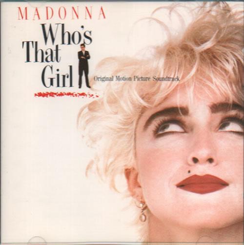 Madonna Who's That Girl CD album (CDLP) German MADCDWH537215