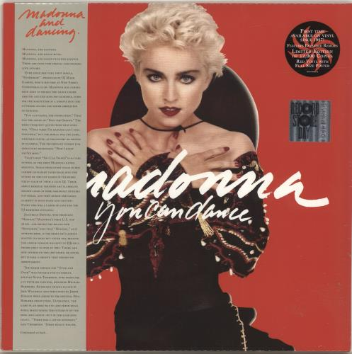 Madonna You Can Dance - Red Vinyl + Poster - Sealed vinyl LP album (LP record) UK MADLPYO694826