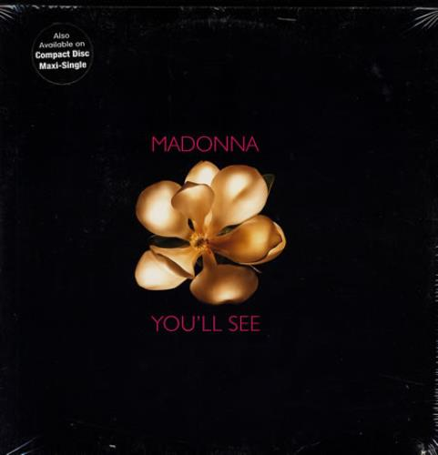 "Madonna You'll See - sealed & stickered 12"" vinyl single (12 inch record / Maxi-single) US MAD12YO59277"