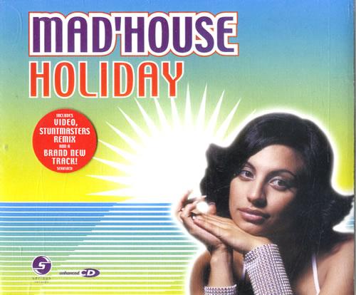 """Mad House Holiday CD single (CD5 / 5"""") UK M:HC5HO538717"""