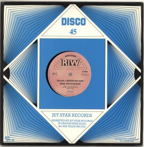 "Mad Professor Black Liberation Dub 12"" vinyl single (12 inch record / Maxi-single) UK MDP12BL715797"