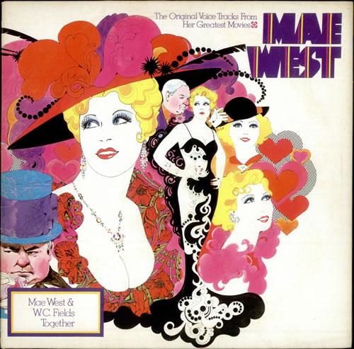 Mae West The Original Tracks From Her Greatest Movies vinyl LP album (LP record) UK MWTLPTH508157