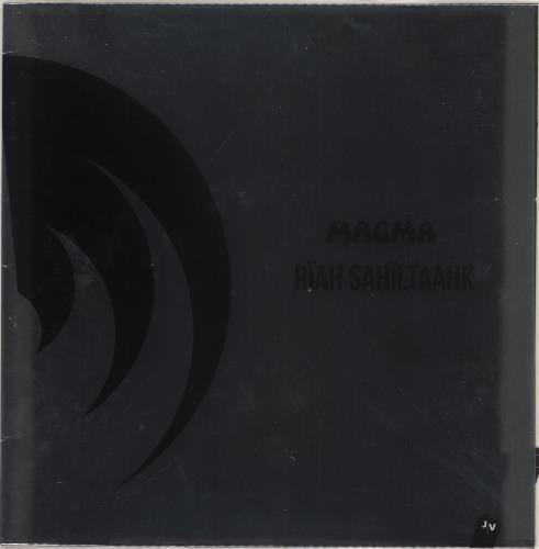 Magma Rïah Sahïltaahk vinyl LP album (LP record) French M-GLPRA714064