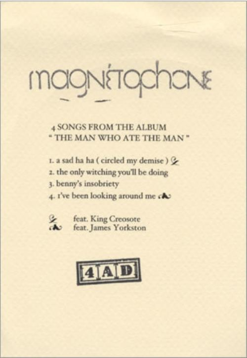 Magnetophone The Man Who Ate The Man CD-R acetate UK NGPCRTH434250