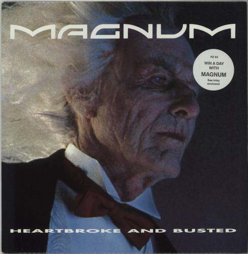 """Magnum Heartbroke And Busted + Insert 12"""" vinyl single (12 inch record / Maxi-single) UK MAG12HE672212"""