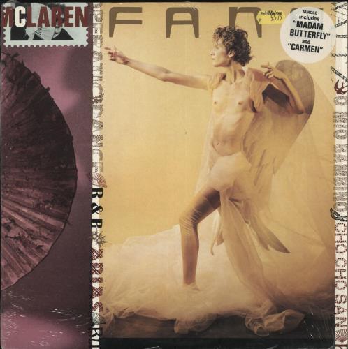 Malcolm McLaren Fans - Stickered Sleeve vinyl LP album (LP record) UK MALLPFA715351
