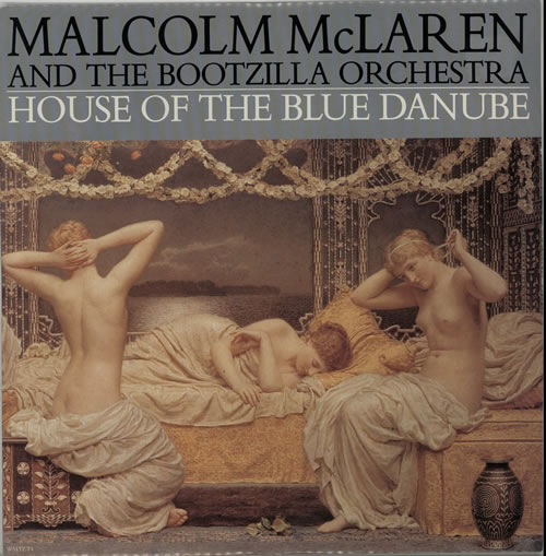 "Malcolm McLaren House Of The Blue Danube 12"" vinyl single (12 inch record / Maxi-single) UK MAL12HO627813"