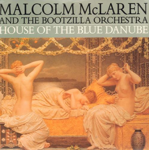 "Malcolm McLaren House Of The Blue Danube 7"" vinyl single (7 inch record) Australian MAL07HO659188"