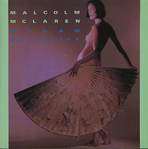 "Malcolm McLaren Madam Butterfly 7"" vinyl single (7 inch record) UK MAL07MA110086"