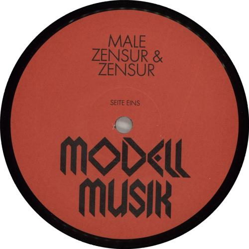 Male Zensur & Zensur - 1st vinyl LP album (LP record) German ZBOLPZE713323