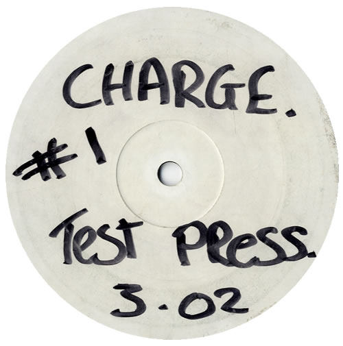 """Mampi Swift Bladerunners EP - Charge Test Press 12"""" vinyl single (12 inch record / Maxi-single) UK M6V12BL560607"""